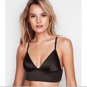NWT Victoria's Secret Satin Bralette Small